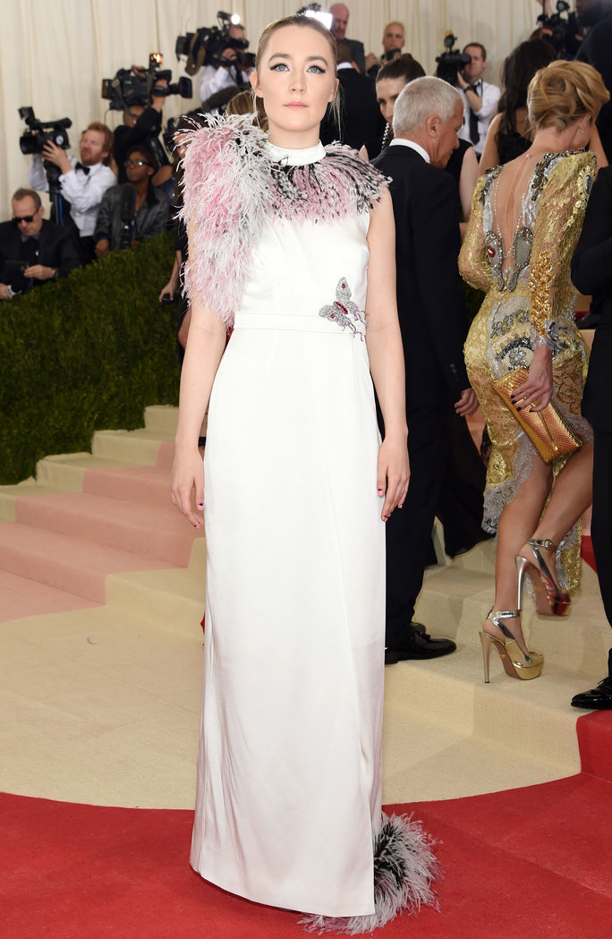 <p>In Christopher Kane, 2016</p>