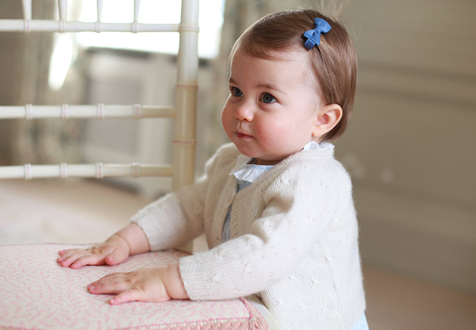 <p>Princess Charlotte Looks Ready to Play</p>