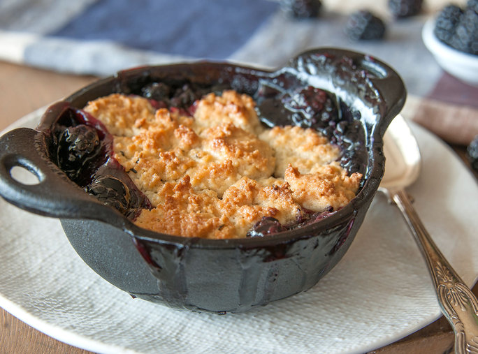 Blackberry Cobbler Kentucky Derby