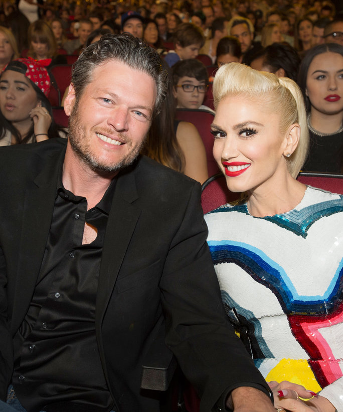 <p>Blake Shelton and Gwen Stefani</p>