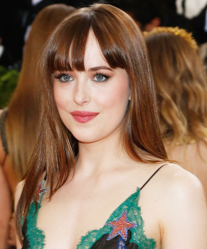 Dakota Johnson Met Gala Close Up - Lead 2016
