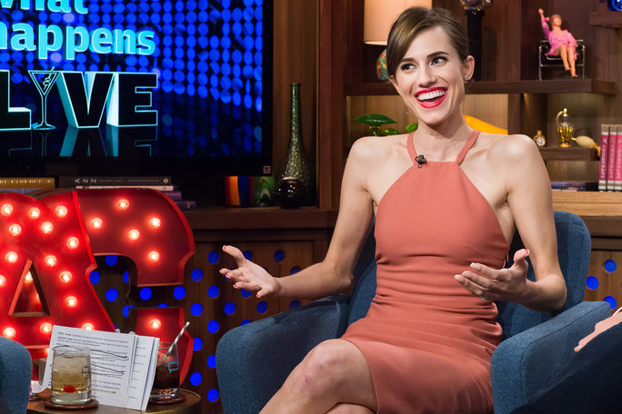 Allison Williams on Watch What Happens Live! - Lead 2016