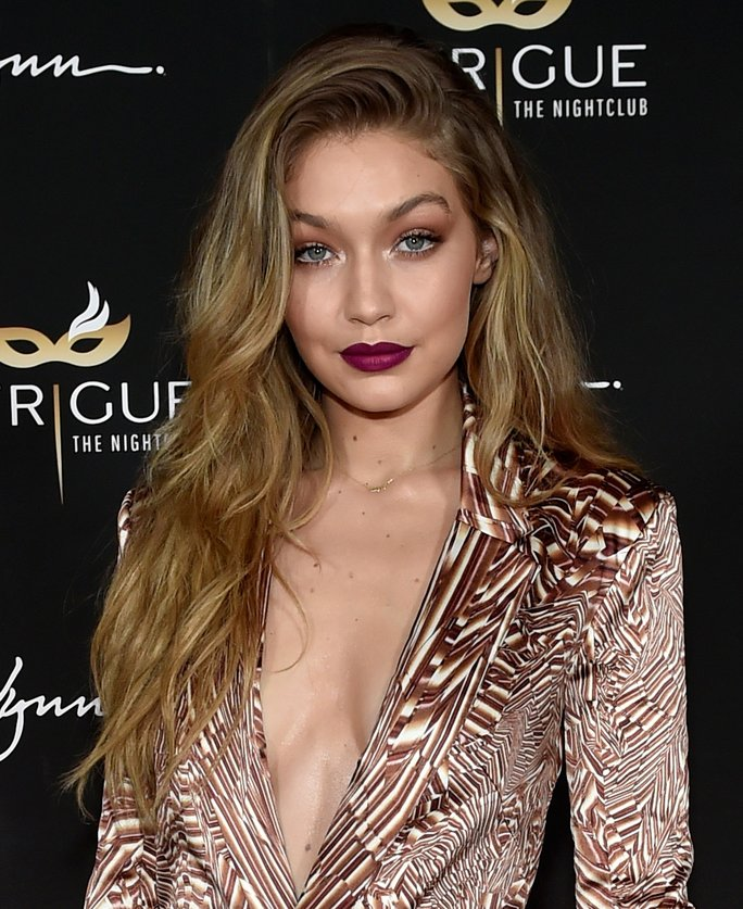 Model Gigi Hadid attends her 21st birthday celebration at Intrigue Nightclub.