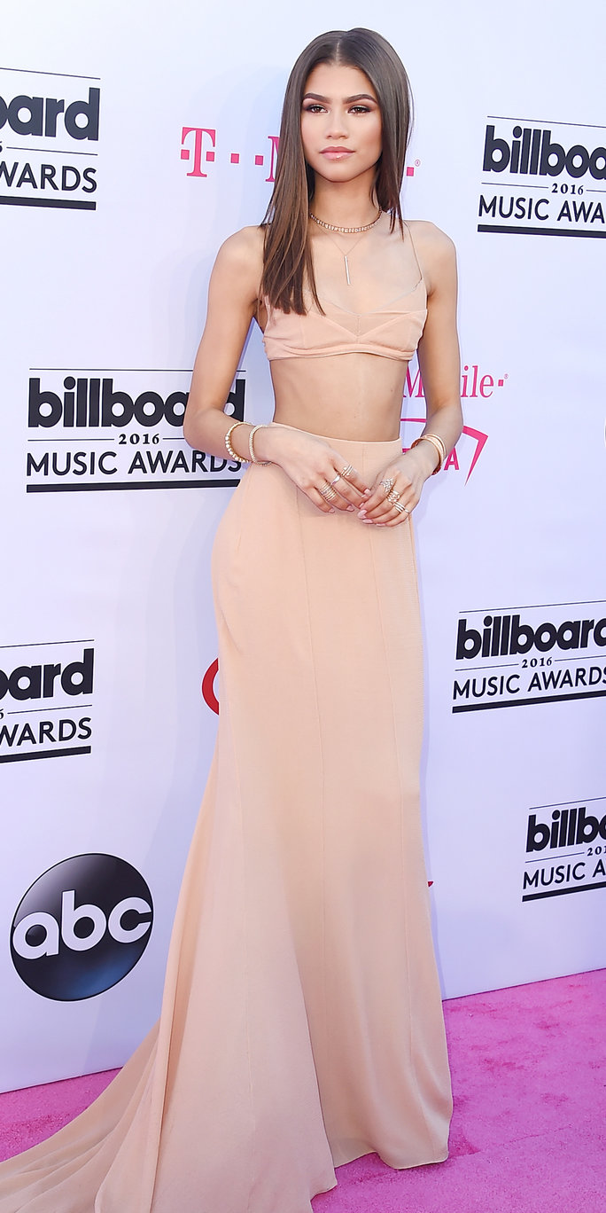 Actress/recording artist Zendaya attends the 2016 Billboard Music Awards at T-Mobile Arena on May 22, 2016 in Las Vegas, Nevada.