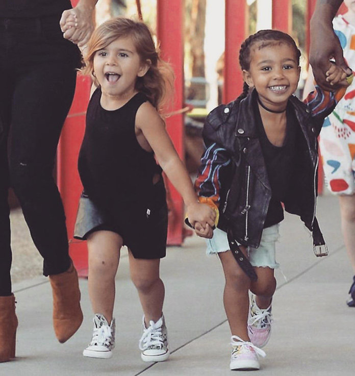 North West and Penelope Disick Had the Cutest <em>Moana</em>-Themed Double Bday Party