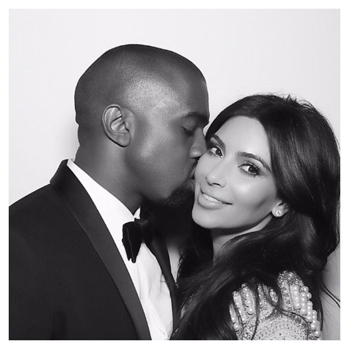 13 Times Birthday Boy Kanye West and Kim Kardashian Were the Cutest Couple on Instagram