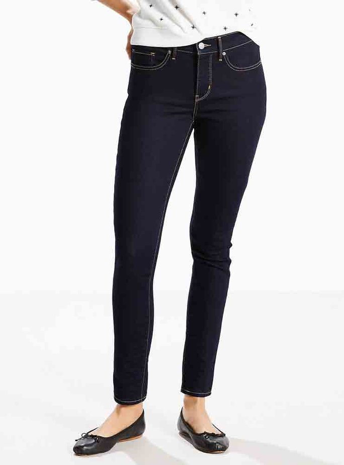 The Best Jeans For Women With A Round Tummy Instyle Com