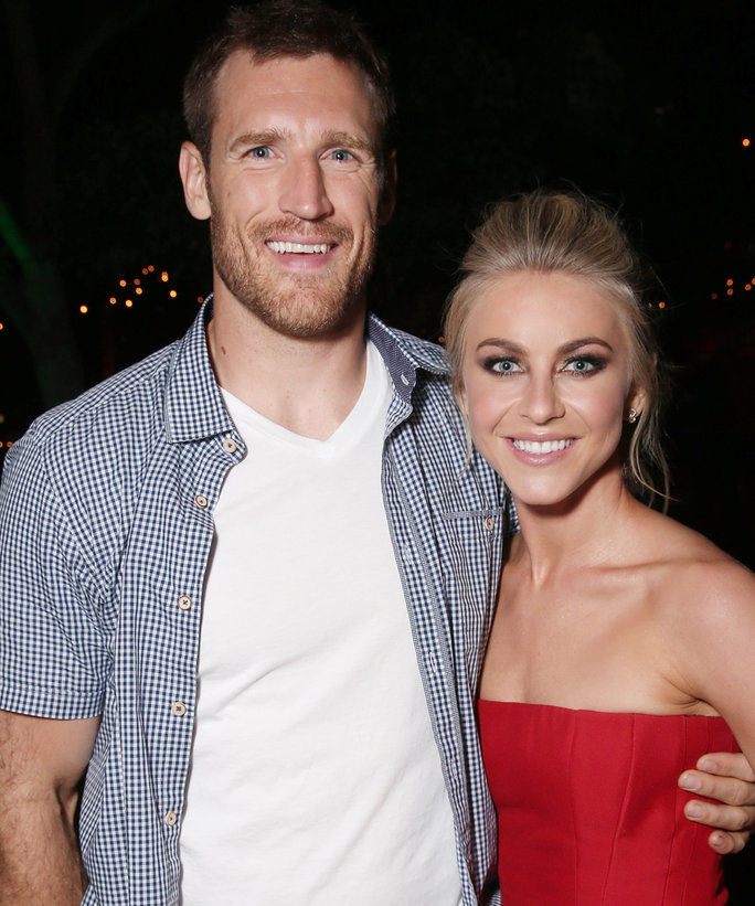 Brooks Laich and fiance Julianne Hough