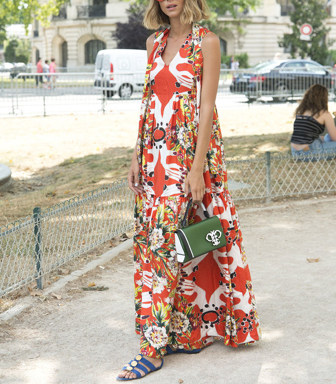 7 Fresh Ways to Rock Your Maxi Dress Like A Street Style Star