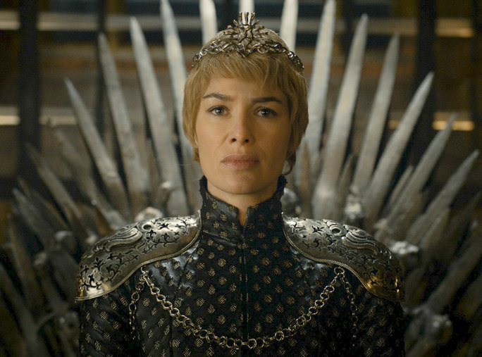 <p><strong>Cersei Lannister Takes the Iron Throne</strong></p>