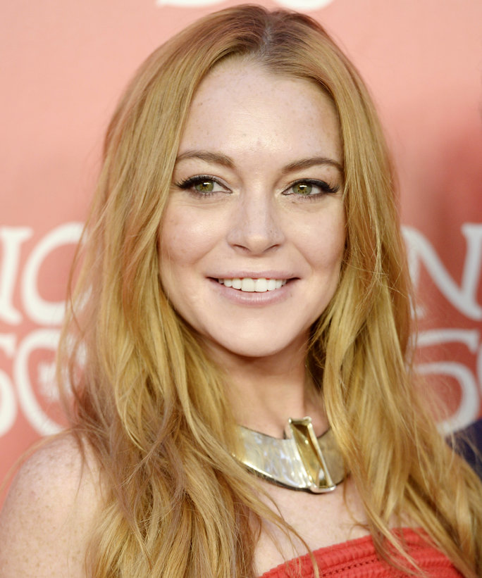 Lindsay Lohan Rocks a One-Piece Swimsuit While Yachting with Her Boyfriend