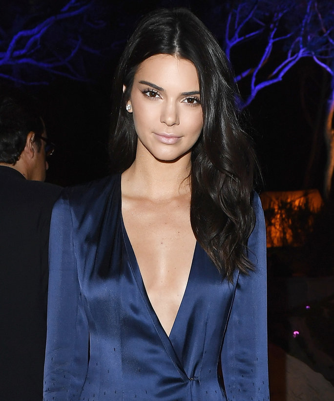 Kendall Jenner Shows Off Her Endless Legs in a Minimalist Black One-Piece