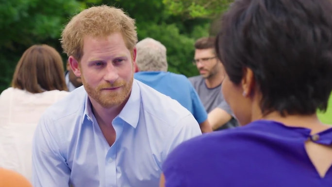Prince Harry at Heads Together - Video Lead