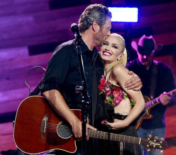 Blake Shelton and Gwen Stefani - May 9, 2016