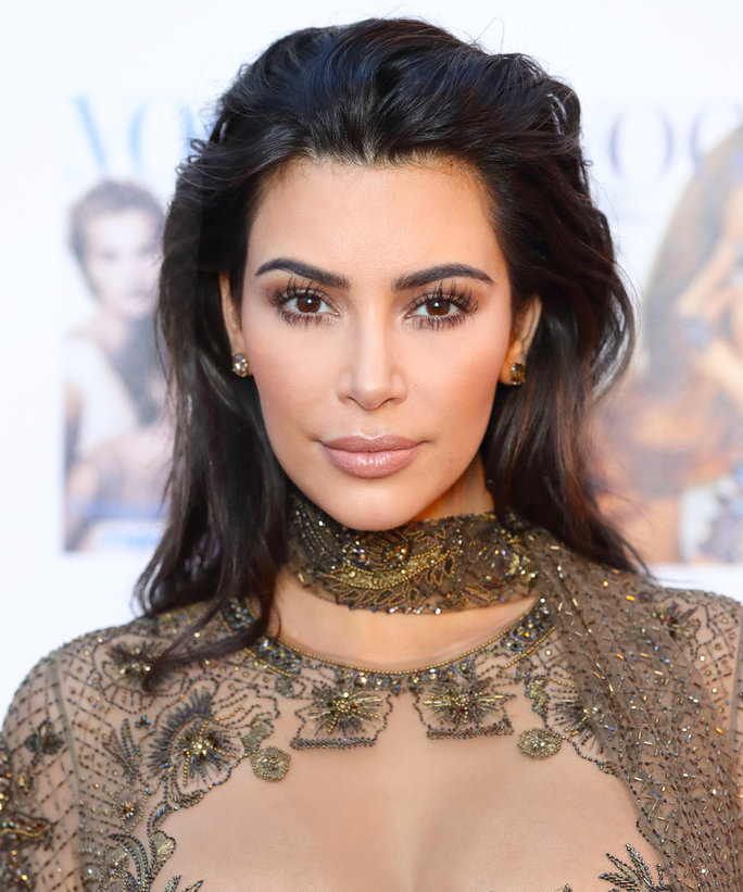 You Won't Believe How Many Steps Are in Kim Kardashian's Eyebrow Routine