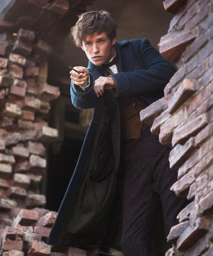 Eddie Redmayne in Fantastic Beasts - Lead 2016