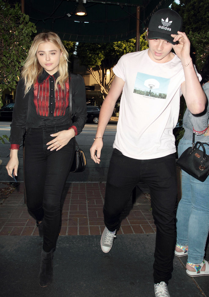 Brooklyn Beckham and Chloe Moretz - Lead