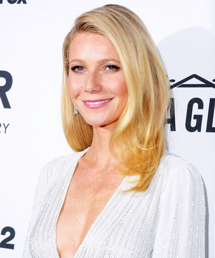 Gwyneth Paltrow amfAR Arrivals 2015 - Lead 2016