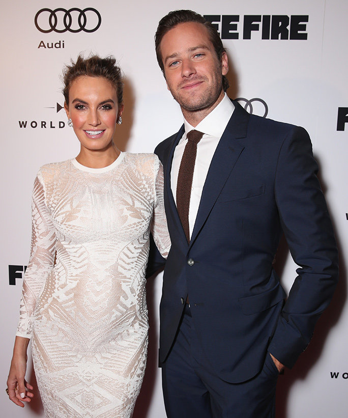 Armie Hammer and Wife Elizabeth Hammer - Lead