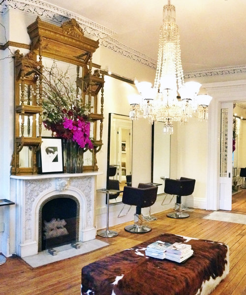 <p>Serge Normant At John Frieda Salon </p>