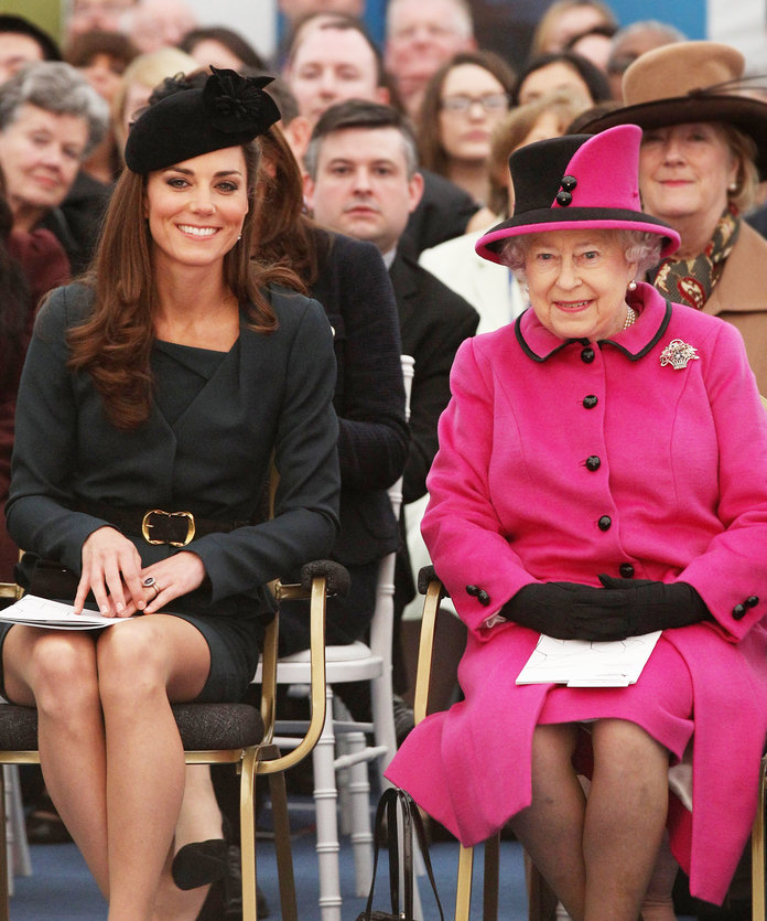 Clone of Kate Middleton Queen Elizabeth