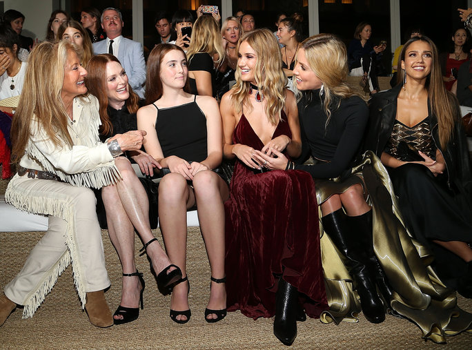 See All the Stylish Celebrities Sitting Front Row During New York Fashion Week