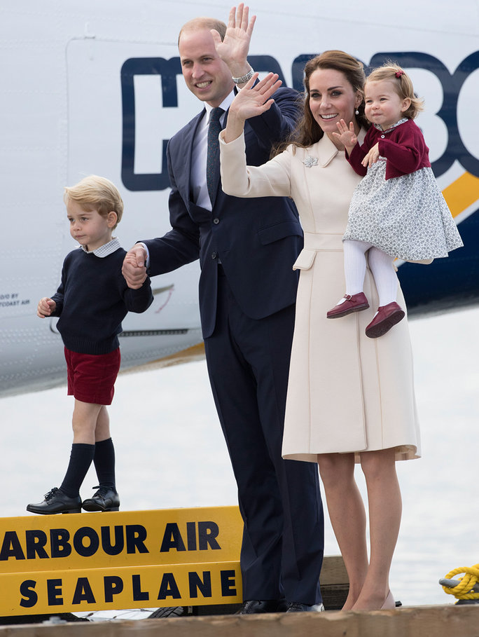 Kate Middleton and the Royal Family Say Goodbye to Canada with a Cute Video