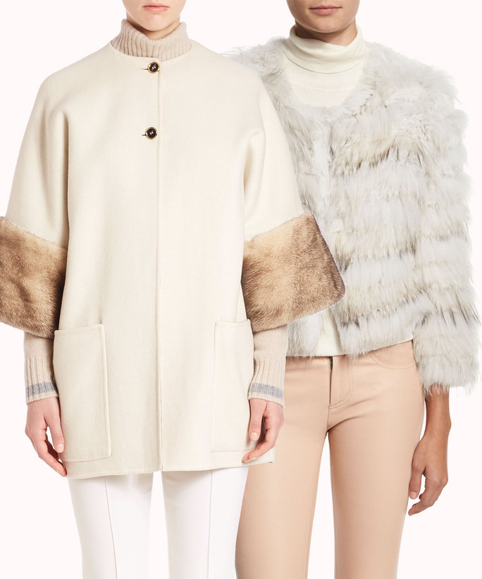 16 Chic Coats to Keep You Warm at Your Winter Wedding