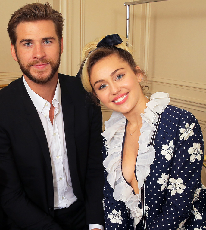 Miley Cyrus and Liam Hemsworth Are Too Cute at the <em>Variety</em> Power of Women Luncheon
