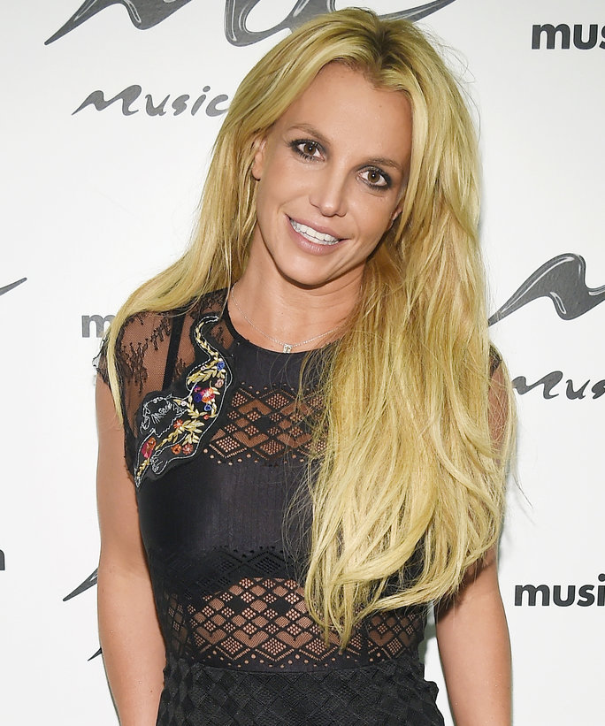 Britney Spears Doing the Splits in a Handstand Will Help You Decide on a New Year's Resolution