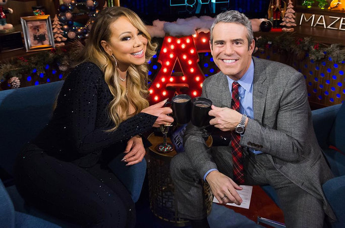 Mariah Carey on Watch What Happens Live - Lead 2016