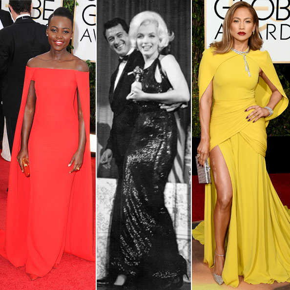 From Marilyn to J.Lo, See Our Favorite Golden Globes Gowns of All Time