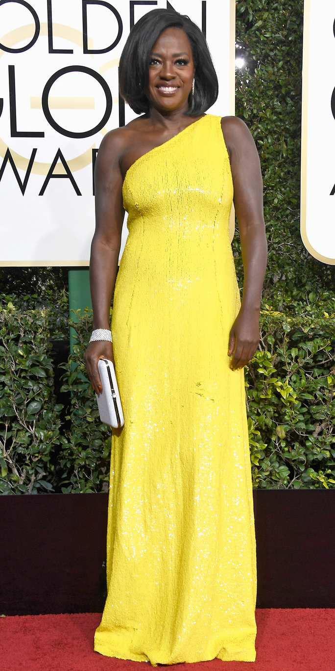 <p>Viola Davis in Michael Kors Collection</p>