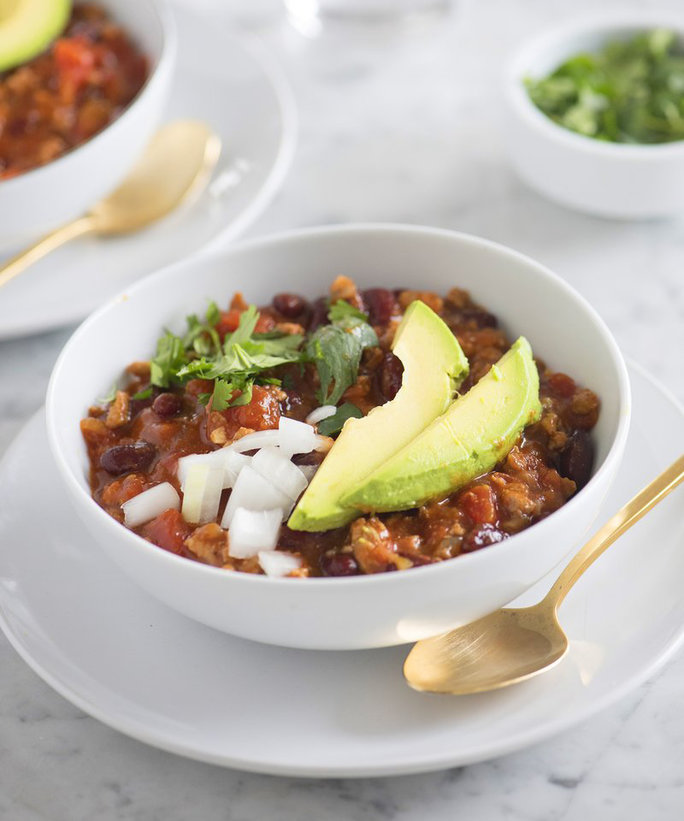 Healthy Turkey Chili Lead
