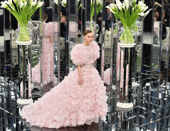 <p>Lily-Rose Depp, the Chanel Couture Bride</p>