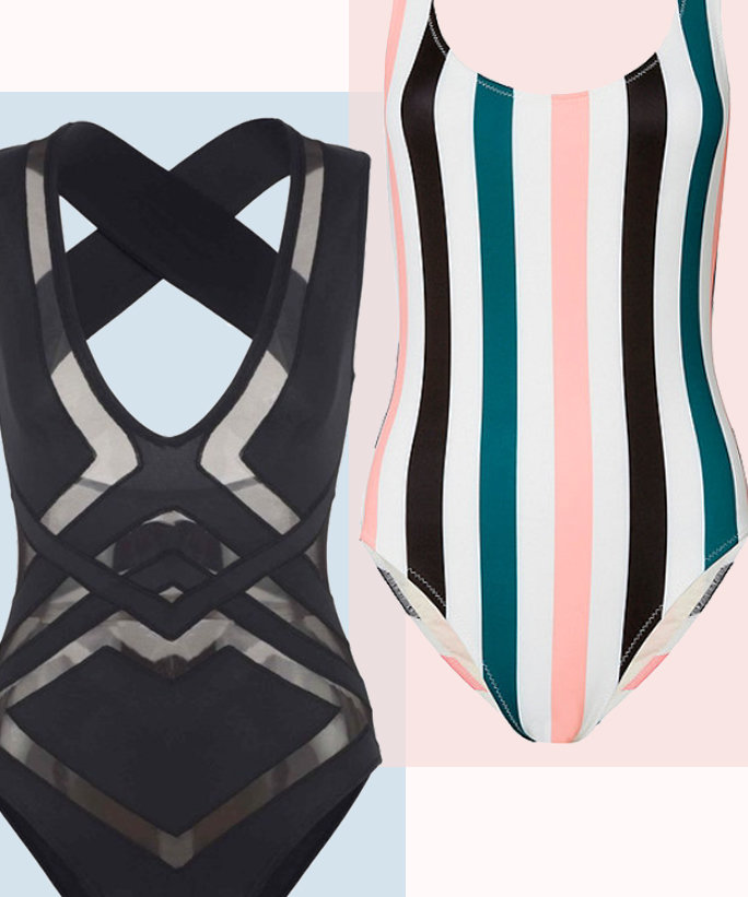 7 Sexy One-Piece Swimsuits for Spring