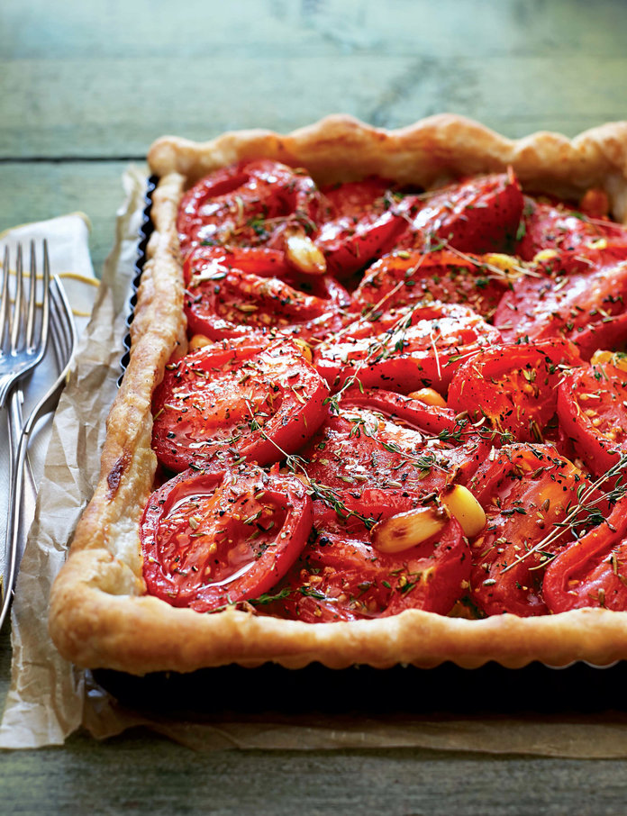 Bring the French Countryside Into Your Kitchen with This Tomato Tart