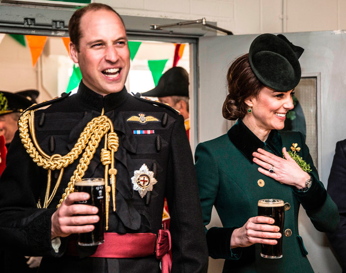 <p>Kate Middleton - 2017 St. Patrick's Day - EMBED</p>