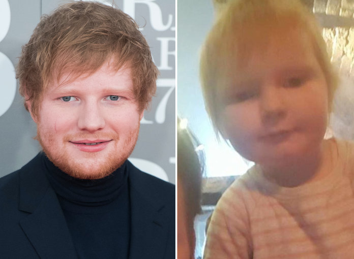This Baby Looks Just Like Ed Sheeran ... and the Internet Is Losing It