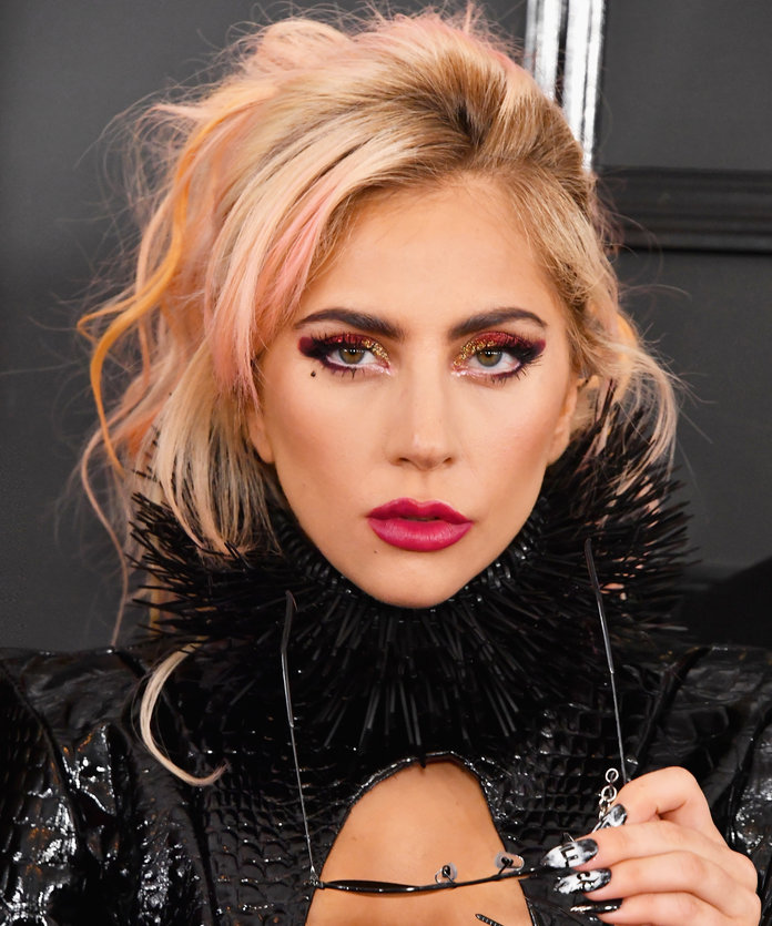 Lady Gaga Looks Totally Different As a Brunette | InStyle.com Lady Gaga