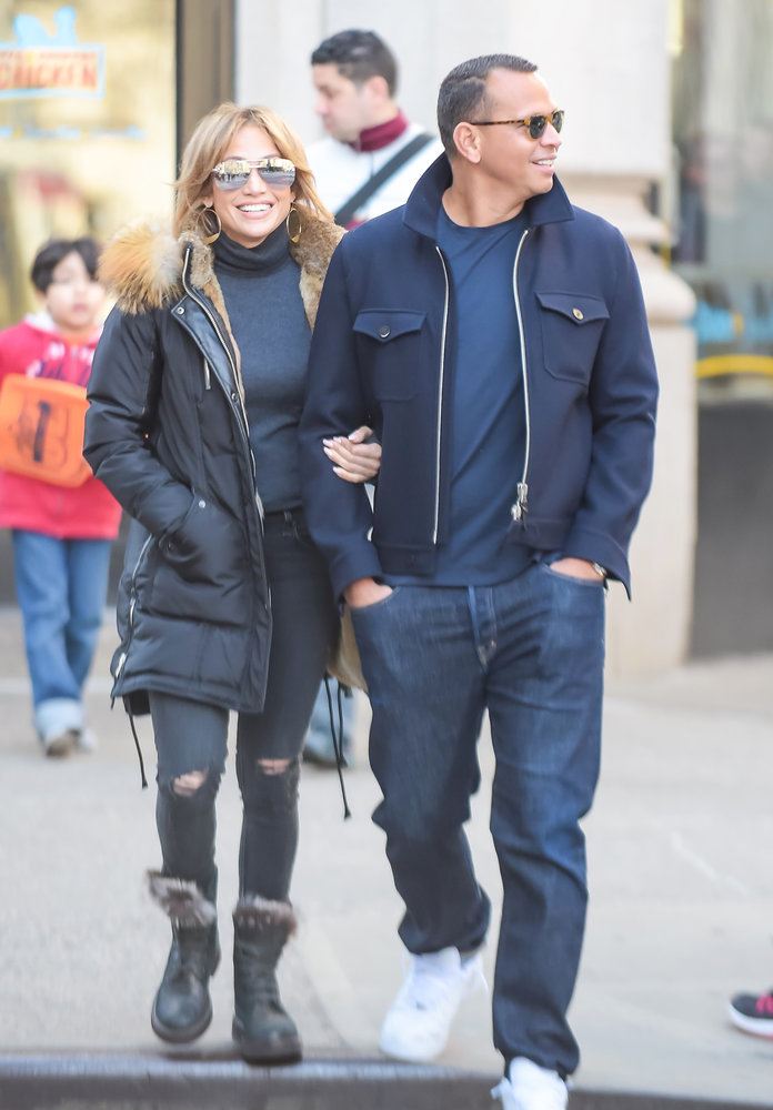 <p>Jennifer Lopez and Alex Rodriguez</p>