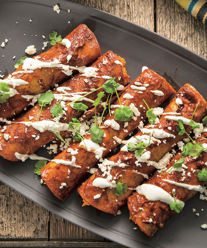 <p>Sweet Potato Enchiladas</p>