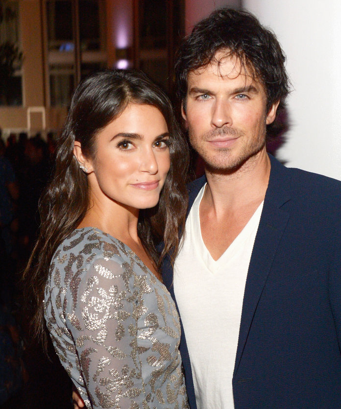 Ian Somerhalder Can't Stop Gushing About Nikki Reed's New Fashion Line