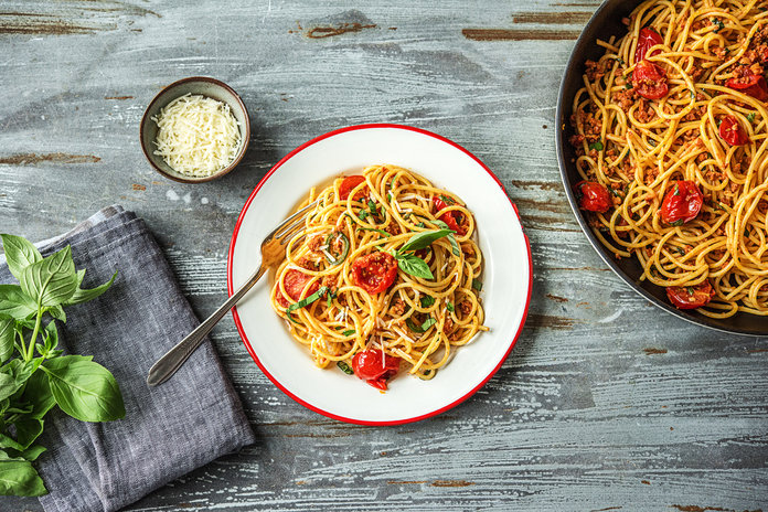 This Mario Batali Spaghetti Dish Is Helping To Fight Against AIDS