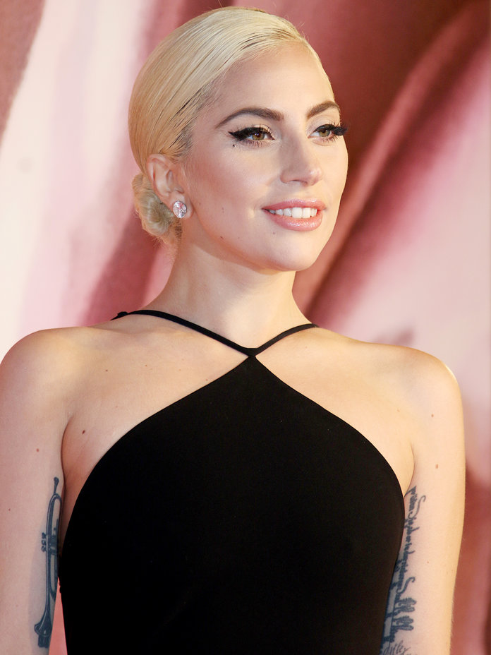 This Is What Lady Gaga Looks Like with Orange Hair