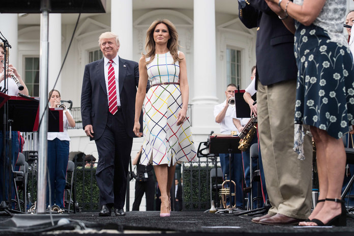 The trumps host their first ever congressional picnic for White house fall garden tour 2017
