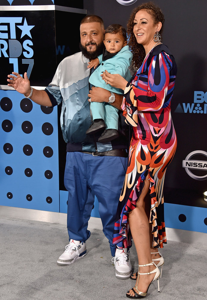 DJ Khaled's Baby Wins BET Red Carpet