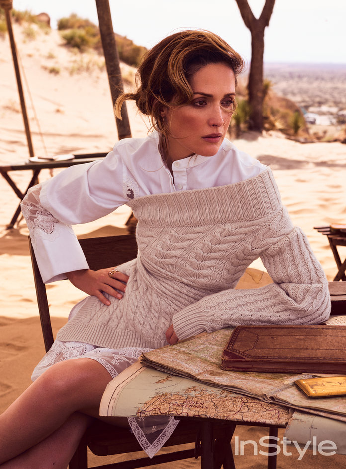 Get Rose Byrne's Desert-Inspired Look From Our August Issue