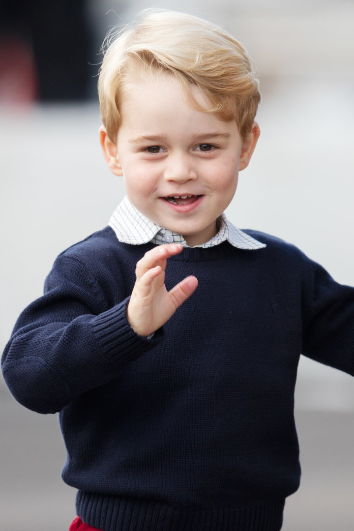 Prince George Is Unimpressed  POPSUGAR Celebrity