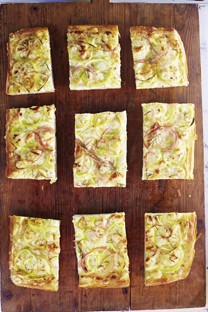 Ditch The Delivery And Make ThisZesty Lemon, Pecorino and Red OnionFocaccia Instead